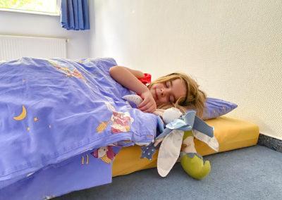 Mittagsschlaf im Kindergarten