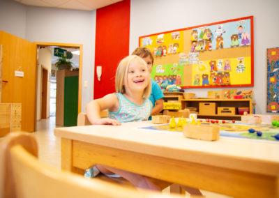 Kindergartenalltag in Rettigheim