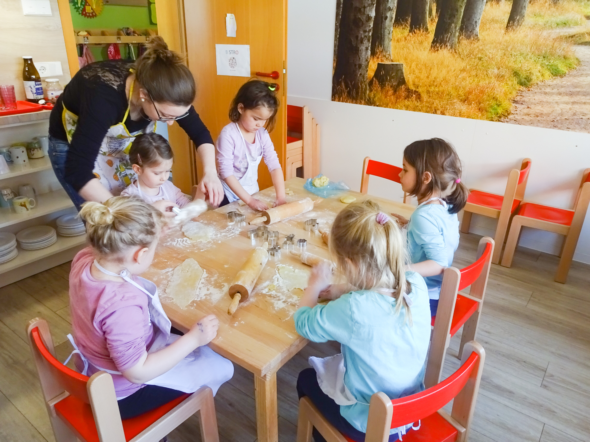 Backen im Kindergarten
